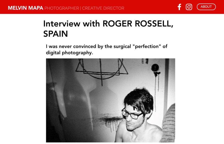 Interview Roger Rossell