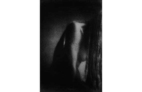 Pinhole001, Gum Bichromate Print by Roger Rossell