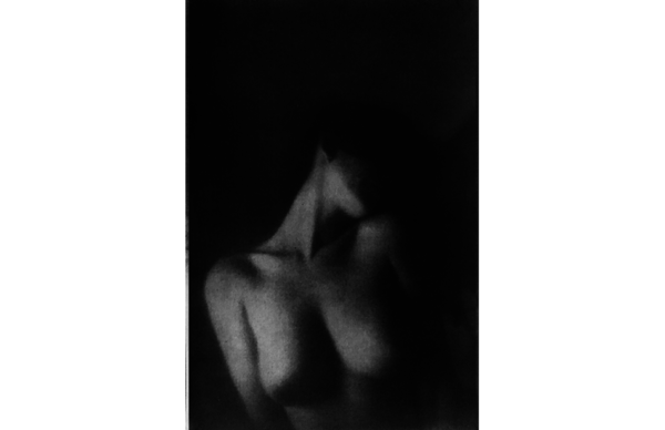 Pinhole003, Gum Bichromate Print by Roger Rossell